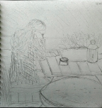 Sunday Morning Coffee & Sketch